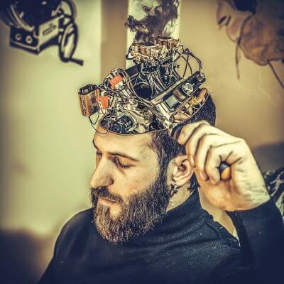 脳のメンテナンスの無料素材