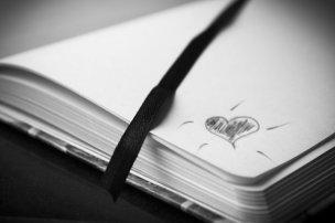 愛のメッセージのノート