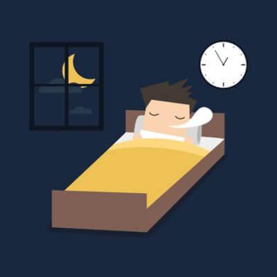 休息・睡眠のイラスト