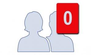 Facebook友達0人