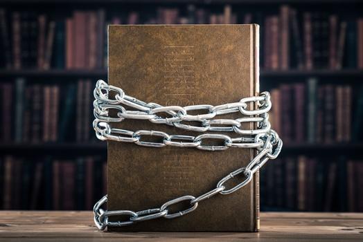 封印された本