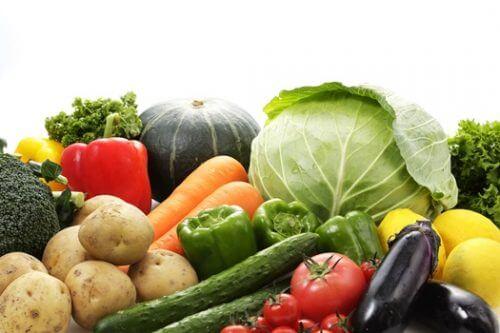 種類豊富な野菜の写真