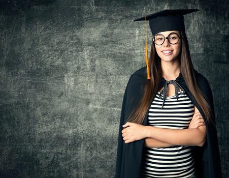 大学生の女性のイメージ