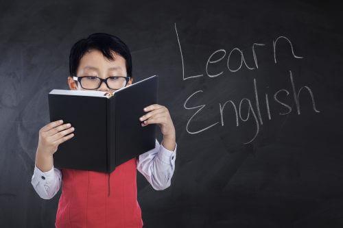 Learn-Englishの男の子