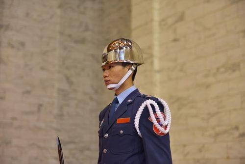 中正記念堂の衛兵